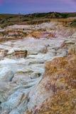 Farba minuje interpretive parkowe Colorado wiosny zdjęcie stock