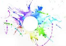 Farba na prześcieradle papier zdjęcia royalty free