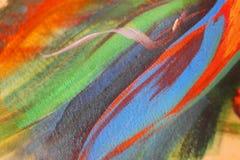 Farba na skórze Ciało sztuka Rysować na ciele Malować ciało akwarele Obraz Royalty Free