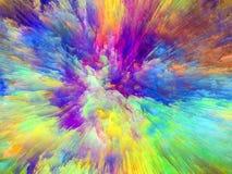 Farba wybuch Zdjęcie Stock