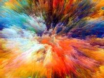 Farba wybuch Obraz Royalty Free