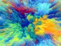 Farba wybuch Zdjęcia Stock