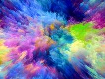 Farba wybuch Obrazy Stock
