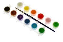 farba zestaw Obrazy Stock