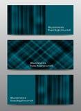 Farbabstrakte Geschäfts-Fahnenhintergründe Stockbilder