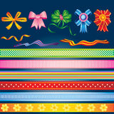 Farbbänder Lizenzfreie Stockbilder