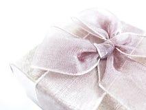 Farbband-Geschenk Stockfoto
