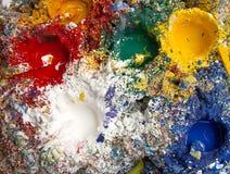 Farbbehälter Lizenzfreies Stockfoto