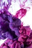 Farbbeschaffenheit Wasser Sea Lilie, Rosa, magentarot Lizenzfreie Stockfotos