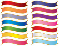Farbbänder Lizenzfreies Stockbild