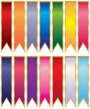 Farbbänder Stockfoto