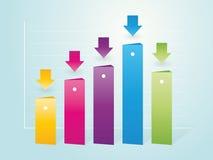 Farbdiagramme Stockbilder