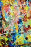 Farbe, abstrakter klarer Hintergrund des Aquarells in den bunten Farben Lizenzfreie Stockbilder