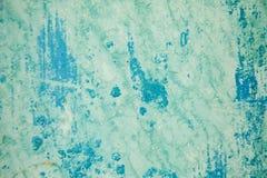 Farbe auf Metalloberfläche Stockbild