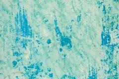 Farbe auf Metalloberfläche Stockfoto