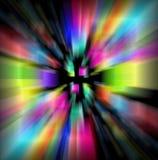 Farbe beleuchtet Hintergrund. Lizenzfreie Stockfotografie