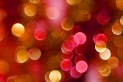 Farbe Bokeh Stockfoto
