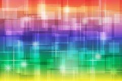 Farbe-bokeh Steigungshintergrund Stockbilder