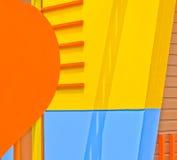 Farbe der Wände. Lizenzfreie Stockbilder