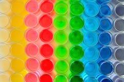 Farbe des Getränks stockfoto