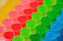 Farbe des Getränks lizenzfreie stockbilder