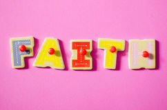 Farbe des Glaubens Lizenzfreies Stockfoto
