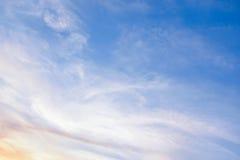 Farbe des Himmels Stockfoto