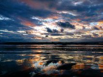 Farbe des Himmels Stockfotos
