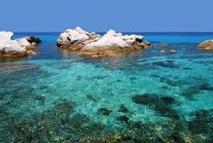Farbe des Meeres Lizenzfreie Stockfotos