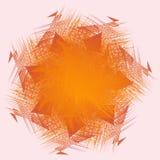 Farbe des orange Rotes für Beschaffenheit, Hintergrund, Muster Lizenzfreies Stockfoto