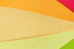 Farbe des Regenschirmes Stockfotografie