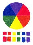 Farbe drehen herein Bleistift vektor abbildung