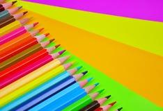 Farbe für das Zeichnen Stockfotografie