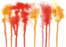 Farbe, Farb-Hintergrund, Aquarell, abstraktes Malereifarbe-tex Lizenzfreies Stockfoto