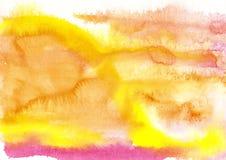 Farbe, Farb-Hintergrund, Aquarell, abstraktes Malereifarbe-tex Lizenzfreie Stockfotos
