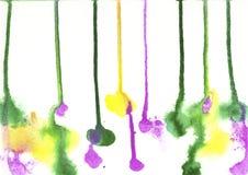 Farbe, Farb-Hintergrund, Aquarell, abstraktes Malereifarbe-tex Stockbilder