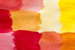 Farbe-Feldmalerei Lizenzfreies Stockfoto