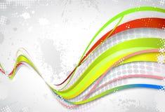 Farbe getrennte Nachricht stock abbildung