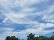 Farbe im Himmel Lizenzfreie Stockfotografie