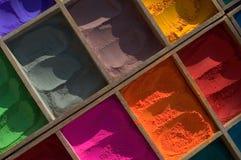 Farbe Indien-, Nepal Stockbilder