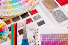Farbe Muster Lizenzfreies Stockfoto