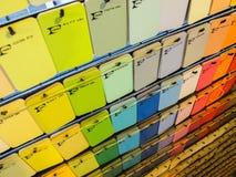Farbe Pantone Lizenzfreies Stockfoto
