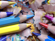 Farbe pencilbackground Lizenzfreie Stockbilder