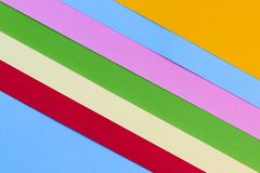 Farbe tapeziert geometrische Beschaffenheit für Hintergrund lizenzfreies stockbild