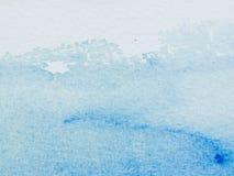 Farbe und Beschaffenheit der Wasserfarbe auf Papier Lizenzfreies Stockfoto
