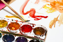 Farbe und Zeichnung Stockbild