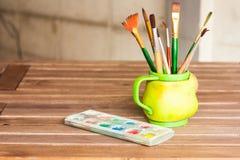 Farbe und Zeichnung Stockfotos