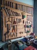 Farbe von Werkzeugen stockbilder