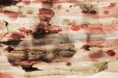 Farbe, Wachs, Schlamm und Aquarell auf Weinlesehintergrund Stockfotografie