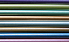 Farbe zeichnet Nahaufnahme an Stockfoto